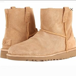 Ugg Unlined Mini Perf Boots